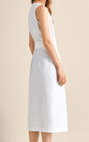 Esperanza Linen Dress in White