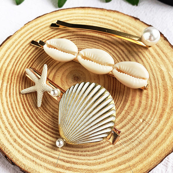 Mermaid Treasures Hair Clip (Set of 3)