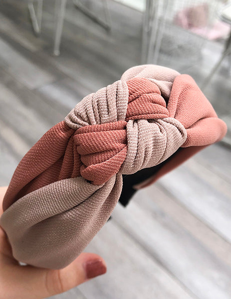 Carnation Knot Headband