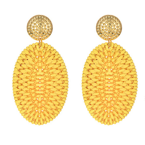 Monet Earrings in Yellow