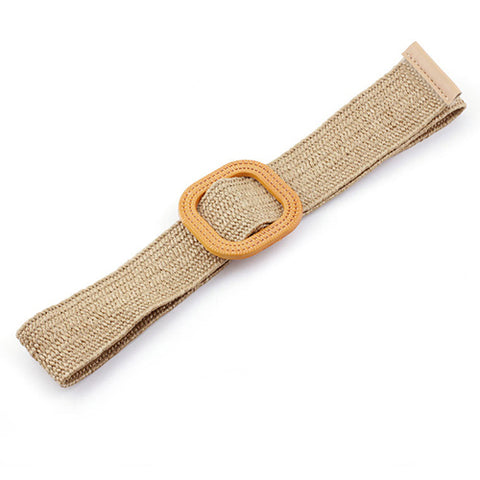 Natural Jute Belt in Beige
