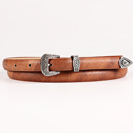 Tulum Belt in Tan