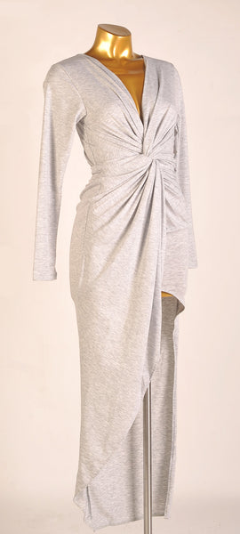 Godiva Dress in Misty Gray