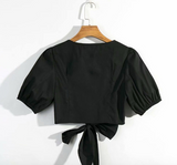Black Swan Crop Top