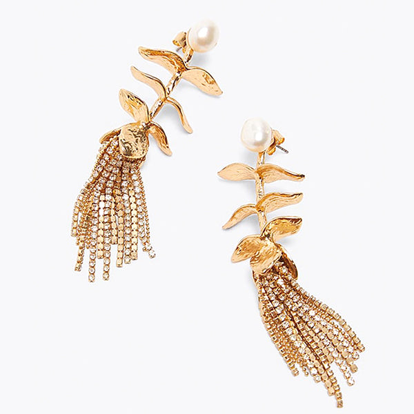 Swahili Feather Earrings