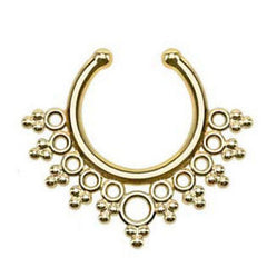 Ivy Faux Septum Ring