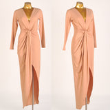 Godiva Dress in Dusty Coral