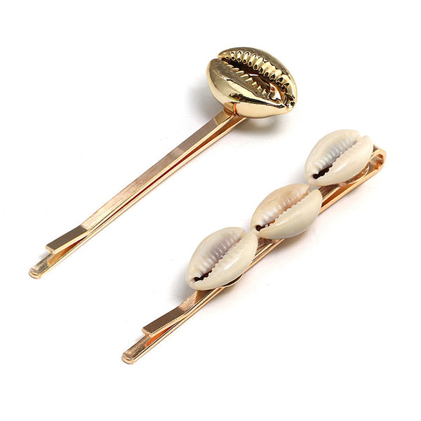 Island Shells Hair Clip (Set of 2)