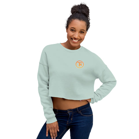 Who Are You Going To be Sunset Crop Sweatshirt