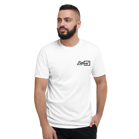 "Black ""Different "" Logo T-Shirt"