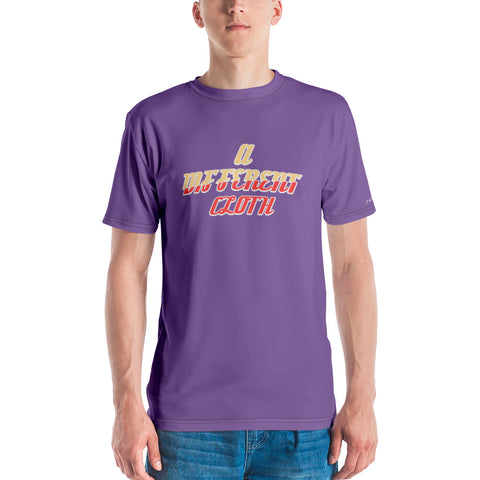 "Purple ""Cut From A Different Cloth"" T-shirt"