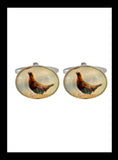Grouse rhoduim cufflinks - Nineteenthirty Menswear - 1