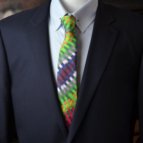 Men's Multi Coloured Silk Tie