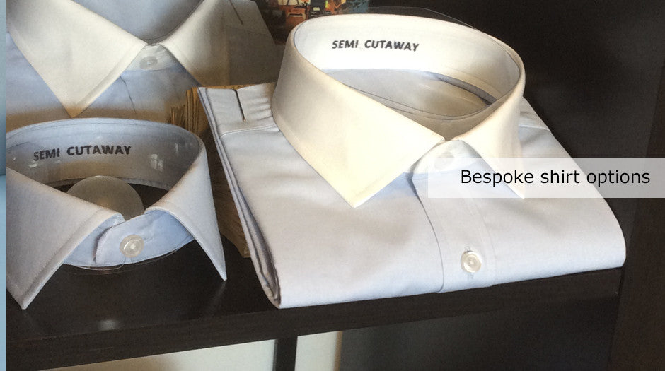 tailor made and bespoke shirts