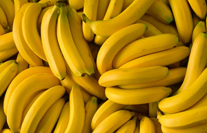 Five bananas