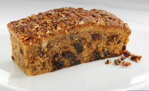 Two toffee, date and pecan slice
