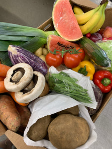 Large veg, fruit and salad box