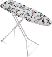 Bartnelli Rorets Compact Space Saving Ironing Board Hanger – with Smart Hanger for Easy Storage | 4 Layer Cover Pad | 4 Leg, Lightweight, for Home Laundry Room, Dorm Use, or Small Space 43x13 H. 35""