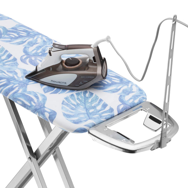 Bartnelli Rorets Ironing Board with Cover Pad, Height Adjustable, Safety Iron Rest, Safety Storage Lock, 4 Layer Pad, Home Laundry Room or Dorm Use
