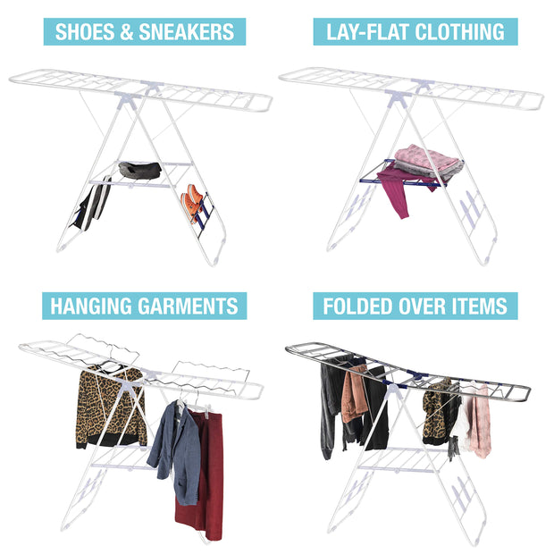 Bartnelli Laundry Drying Rack for Clothes