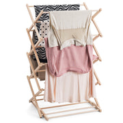 Preassembled and Collapsible Drying Stand