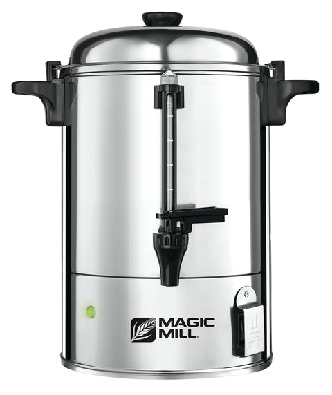 MAGIC MILL DOUBLE INSULATED HOT WATER URN 35 CUP SAFETY SPOUT MODEL# MURD35