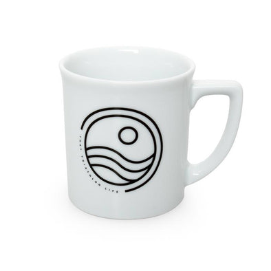 Stencil Coffee Mug -8.8oz