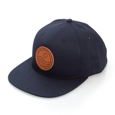 Leather Patch Ball Cap