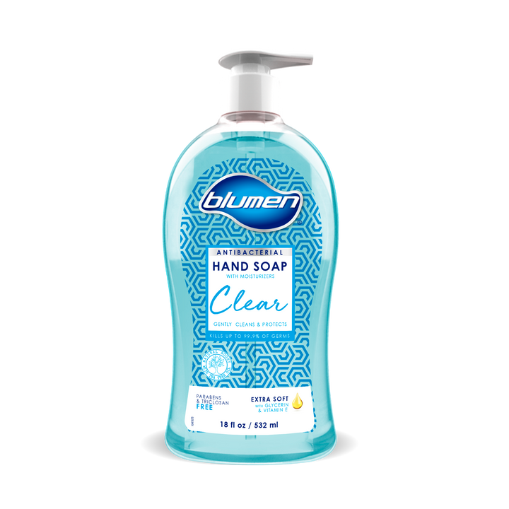 Clear Hand Soap 18oz (12ct)-GRJ Health