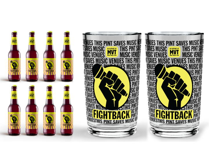 Buy 8 pack of Fightback Berries with 2 Fightback Pint Glasses