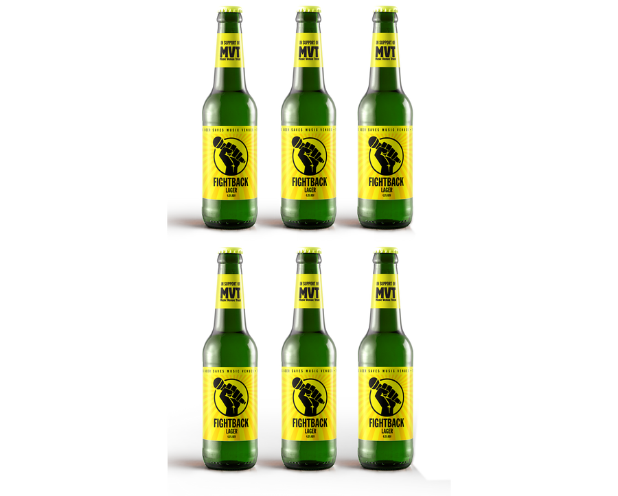 Buy Fightback Lager 6 pack