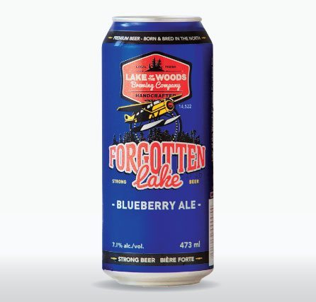 LOTW Forgotten Lake Blueberry Ale