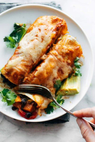Veggie Enchiladas - 3 pieces