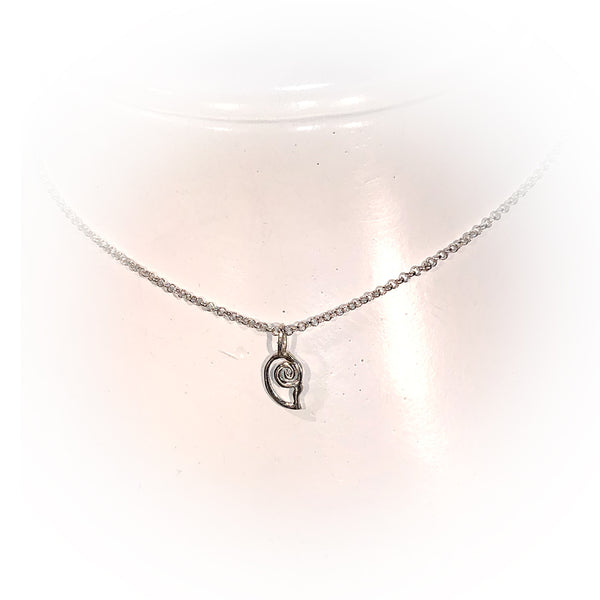 Collar MINI SNAIL-Plata