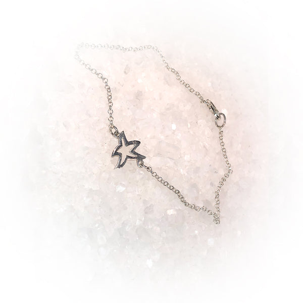 Pulsera MINI STAR-Plata