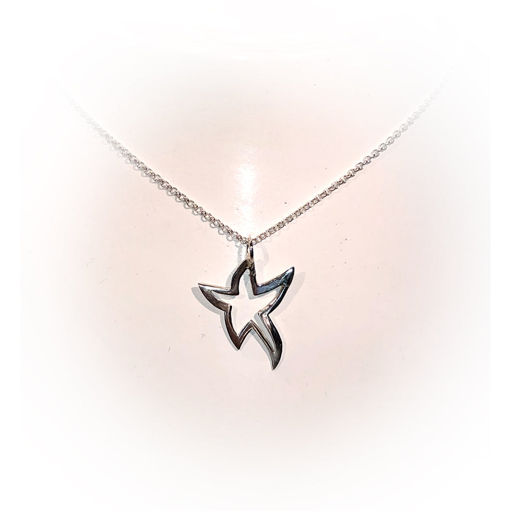 Collar SUPER STAR-Plata