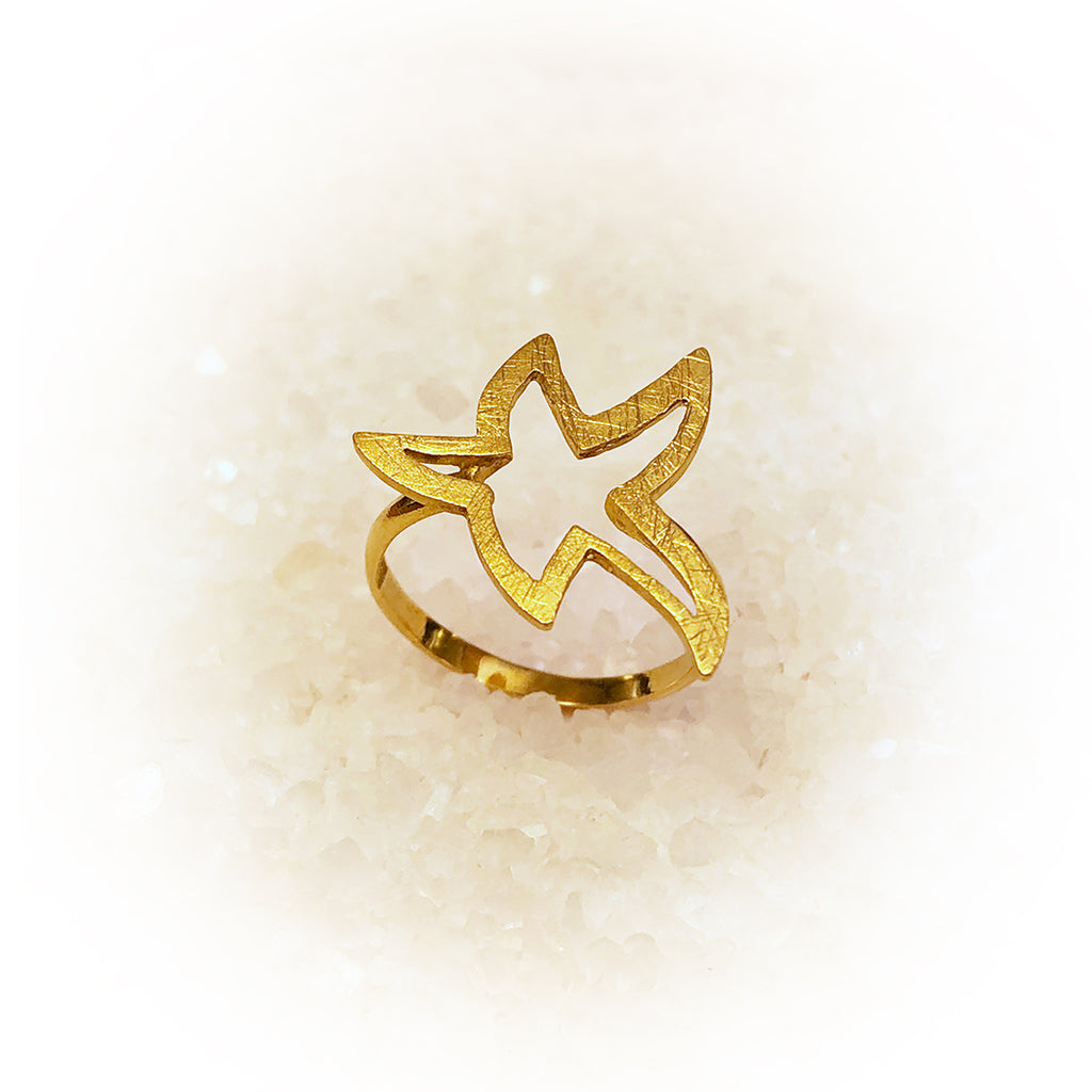 Anillo SUPER STAR-Oro