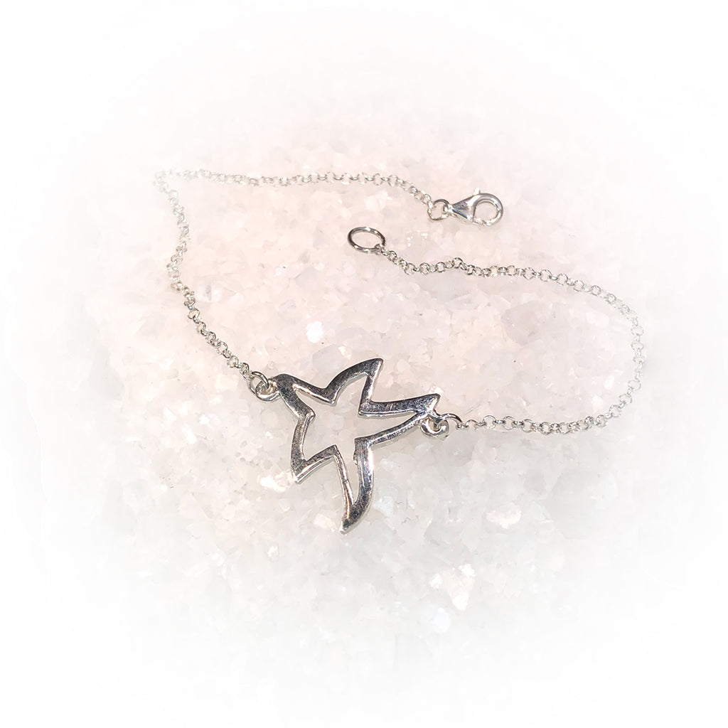 Pulsera SUPER STAR-Plata