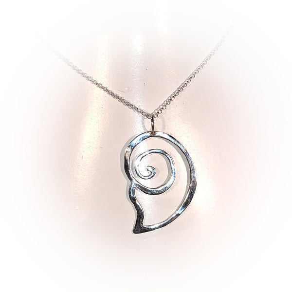Collar BIG SNAIL-Plata