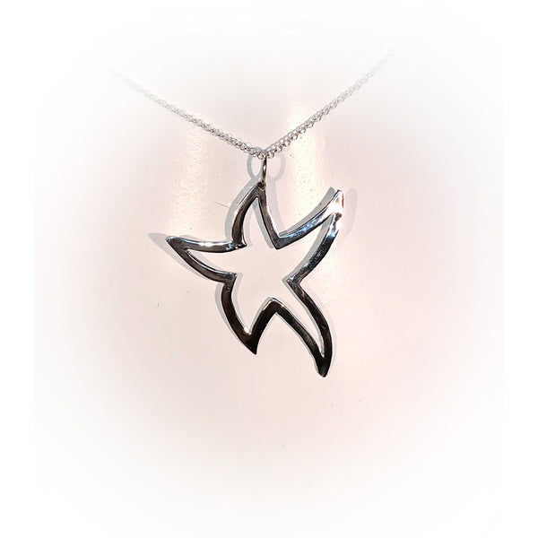 Collar BIG STAR-Plata