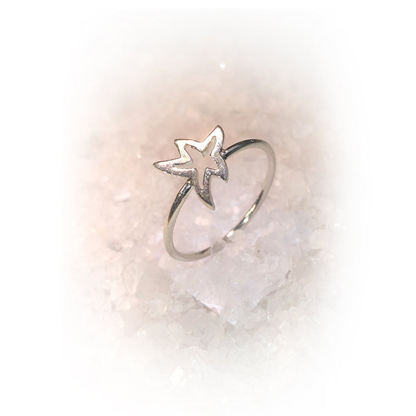 Anillo MINI STAR-Plata
