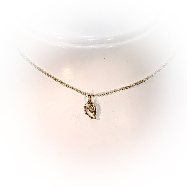 Collar MINI SNAIL-Oro