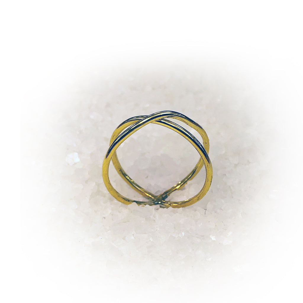 Anillo CROSS-Oro