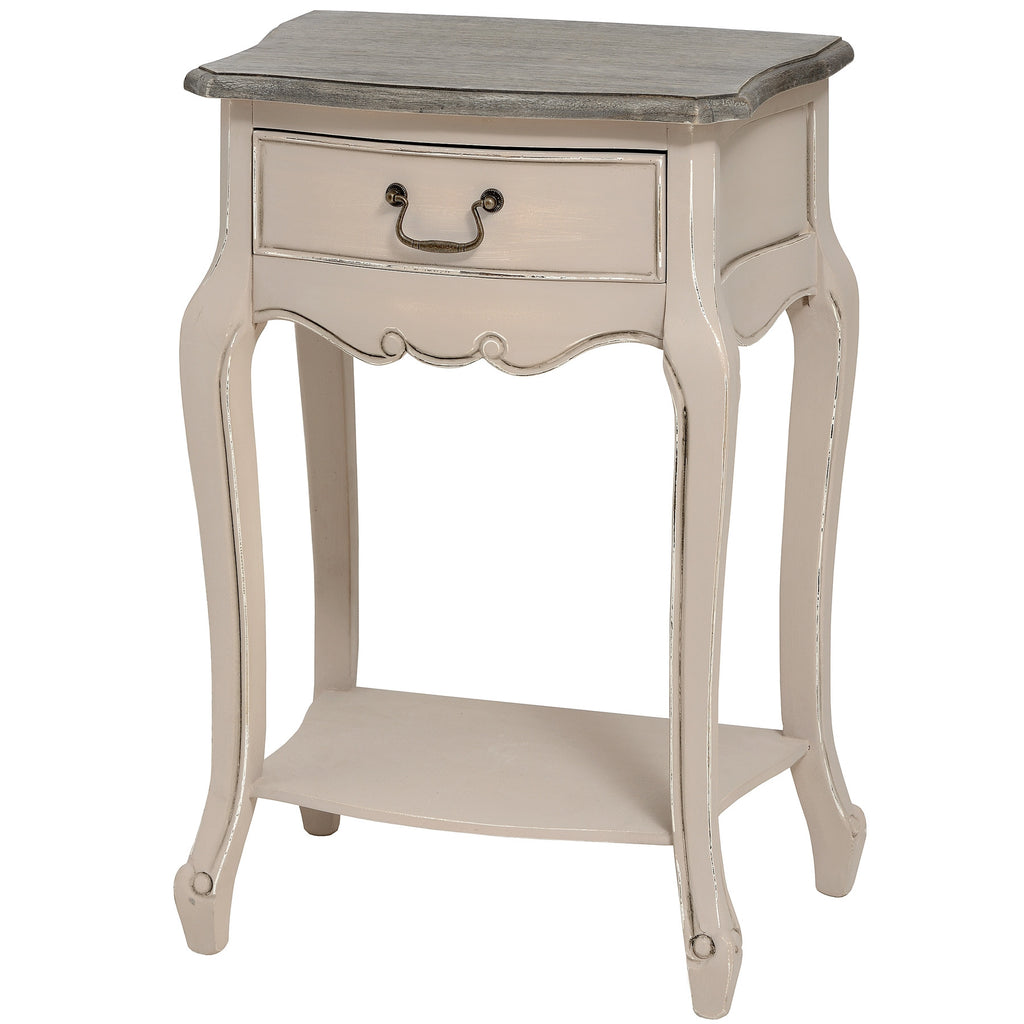 Manor House Painted 1 Drawer Lamp Table - lovefurnitureuk - 1