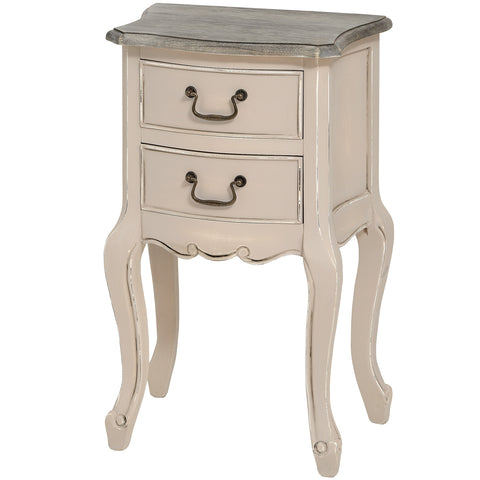Manor House Painted 2 Drawer Side Table