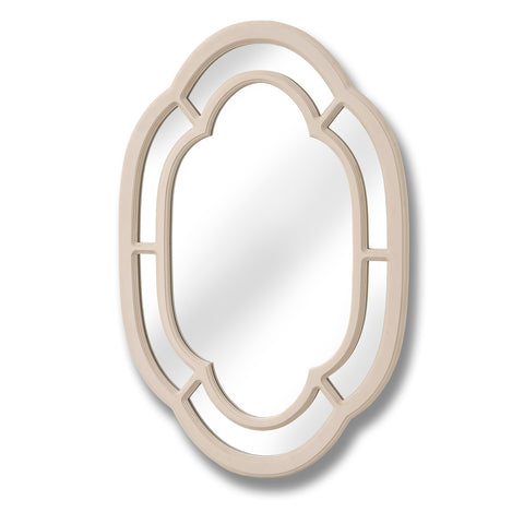 Manor House Painted Oval Mirror