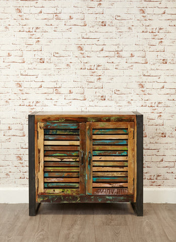 Urban Chic Reclaimed 2 Door Small Sideboard