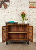 Urban Chic Reclaimed 2 Door Small Sideboard - lovefurnitureuk - 3