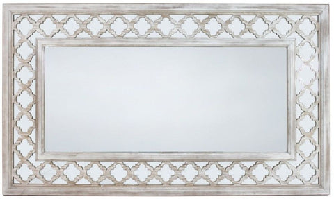 Hamlin Beach Extra Large Wooden Mirror