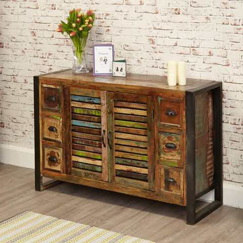 Urban Chic Reclaimed 6 Drawer Sideboard
